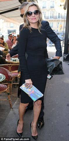 Kate Moss @ Stella McCartney FW Paris