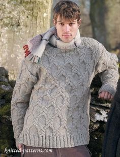 2f733be43526 Men s sweater knitting pattern free Knitted Cape Pattern