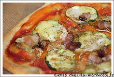 Pizzas naans légères