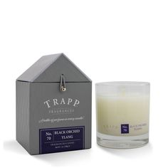 Our longest carried line at Crafted Decor years) is Trapp Candles - a bottle of perfume in every candle Trapp Candles, Fragrance, Black Orchid, Candle Jars, Finding Yourself, Packaging, Perfume, Bottle, Crafts
