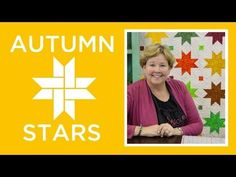 Make an Easy Autumn Stars Quilt | Missouri Star Quilt Company - YouTube | Bloglovin'