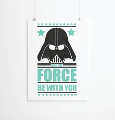 35.00$ - Star Wars poster, Star Wars print, Movie Poster, Retro poster, Inspirational quote prints, Kids Poster