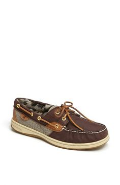 Sperry Top-Sider® 'Bluefish 2-Eye' Boat Shoe (Women) available at #Nordstrom Size 10 please! :)