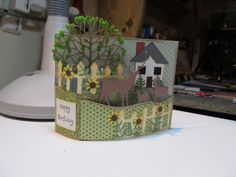 Bendi Fold Card by figaro - Cards and Paper Crafts at Splitcoaststampers