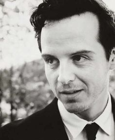 For some reason this picture made me think of Moriarty looking in on John's wedding...
