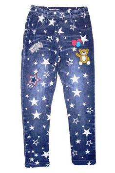 Леггинсы под джинс для девочек, Венгрия, от 3 до 7 лет
