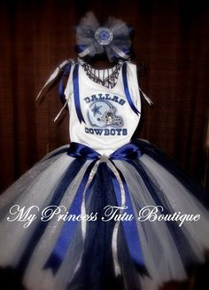 Kaylah will be wearing this for Football season 2012!