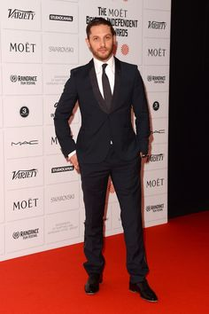Tom Hardy. | Here's Proof That Celebrity Men Look Unbearably Hot In Suits