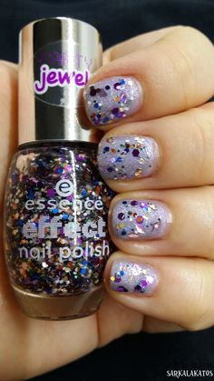 essence effect nail polish - 24 party never ends
