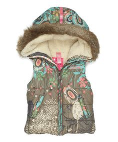 {Muddy Britt Vest - Girls} Too cool.