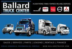 Ballard Truck Center (@BallardTrucks)   Twitter West Springfield, Heavy Duty Trucks, Used Trucks, Volvo Trucks, Sale Promotion, Trucks For Sale, Truck Parts, Online Business, Finance