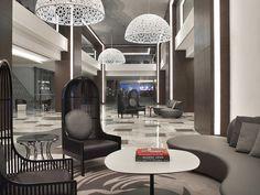 Modern Lighting Ideas for a Lobby