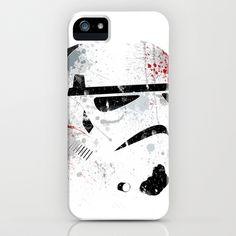Star Wars paint splatter: Stormtrooper iPhone Case by Arian Noveir - $35.00