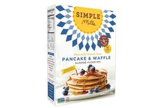 Pancake & Waffle Mix by Simple Mills sooo delish! Paleo and GF!