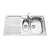 Swiss 150 Inset Kitchen Sinks - Classic Traditional Design | The Sink Warehouse: Kitchen Sinks, Bathroom Vanities and Laundry Tubs!