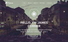 PlanusWP - One Page WordPress Theme