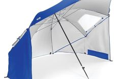 Sport-Brella Beach Umbrella - Portable sun and weather shelter and family beach tent with carry bag: Sports & Outdoors Weather Umbrella, Sun Umbrella, Beach Umbrella, Large Umbrella, Bubble Umbrella, Beach Canopy, Canopy Tent, Shade Canopy, Shopping