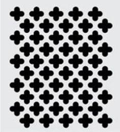 30945 PLAID FOLKART HANDMADE CHARLOTTE STENCILS-MOORISH PATTERN-PKG OF – Supply Craft