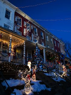 Top 10 Christmas Lights Displays: Miracle on 34th Street, Baltimore, Maryland. Photo by sneakerdog