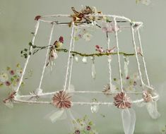 How to re cover a lampshade frame with an unusual shape including photo by shns photo courtesy dena fishbein it has become quite popular to use wire lampshades stripped of their original fabric in all kinds of keyboard keysfo Choice Image