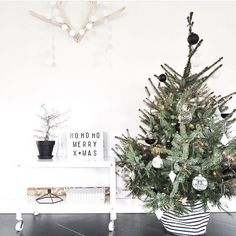 50 Minimalist Christmas Decorations That are Refreshing and Luxurious - Hike n Dip - - Here are best Minimalist Christmas decorations for your inspo. Simple & Natural Christmas decor are great for modern homes, small spaces or budget decors. Minimal Christmas, Natural Christmas, Noel Christmas, Modern Christmas, Scandinavian Christmas, Winter Christmas, Christmas Drinks, Christmas Tables, Christmas Tree Stand Cover