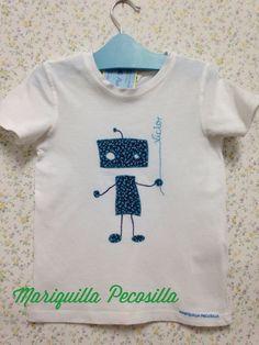 Camiseta Víctor robot