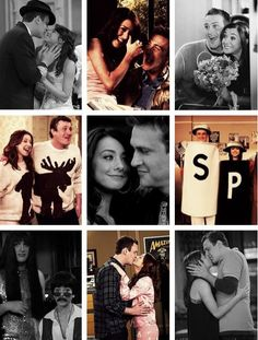 marshall and lily! Oh how I LOVE How I Met Your Mother!