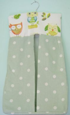 Sewing Ollie Owl Nappy Stacker - The Supermums Craft Fair