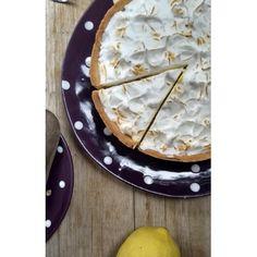 Citrónová meringue torta