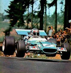 Matra MS80, Jackie Stewart, FLYING at Nurburgring , German GP , 1969