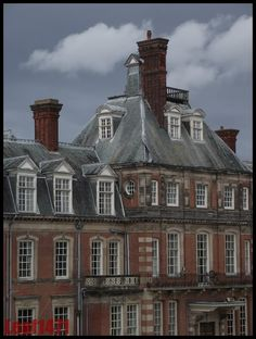 Kinmel Hall in Wales is in poor condition and has an uncertain future.