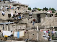 Living conditions in Haiti