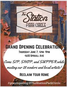 The Station Park Circle Grand Opening - Tami Boyce Grand Opening, My Passion, Park, My Love, Design, Opening Day, My Crush, Parks