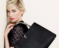 Michelle Williams for Louis Vuitton..... love the colour tones, styling, makeup and hair. great editing