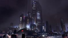 Halo Guardians Full HD Wallpaper and Background x Cyberpunk City, Full Hd Wallpaper, Computer Wallpaper, One Step Beyond, Unusual Buildings, Halo 5, The Game Is Over, Fantasy Monster, High Resolution Wallpapers