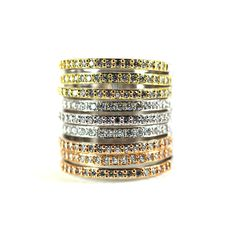 Cylinder Ring – Andreia Fuzon Jewelry Yellow Gold, Silver and Rose Gold Plating