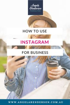 Instagram is an awesome, totally free tool that can help you grow your business. The only issue is that you can't just make an account and expect growth overnight. This blog guides you through the fundamentals you need to create an Instagram presence that will translate to sales and business growth. Find out how to grow your business through Instagram by clicking here. Marketing Goals, Small Business Marketing, Business Tips, Social Media Marketing, Instagram Marketing Tips, Instagram Tips, Get Instagram Followers, Small Business Consulting