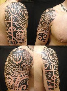 tatuagem.polinesia.maori. kirituhi .tattoo braço.Lady Gaga by Tatuagem Polinésia - Tattoo Maori, via Flickr