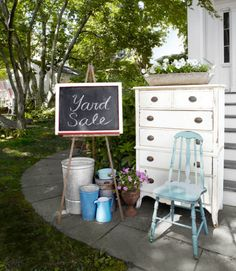 Spring isn't the only time to do a bit of purging! Spend some time this summer getting rid of excess household items by hosting a weekend yard sale. Plus: 12 smart tips for hosting a successful yard sale »