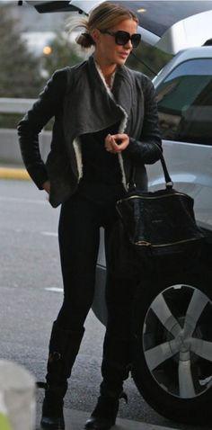 Kate Beckinsale in Helmut Lang jacket