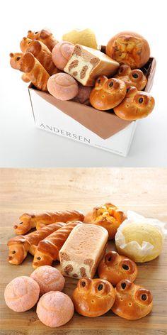 Andersen cute bread.