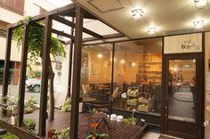 カフェなかちよ Divider, Room, Furniture, Home Decor, Gourmet, Bedroom, Decoration Home, Room Decor, Rooms