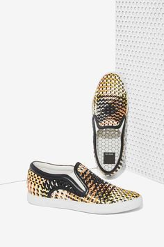 Dolce Vita Zeplin Woven Slip-On Sneaker | Shop Shop All at Nasty Gal