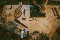 considerthewldflwrs jewelry bench