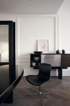 floors  Appartement Paris, architecte Joseph Dirand © Adrien Dirand (AD n°100 mai 2011)