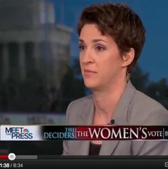 The War On Women: Watch Rachel Maddow stand up for reason and her gender in a stunningly eloquent response.