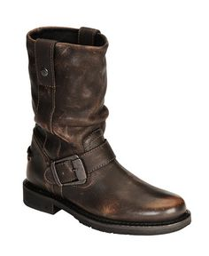Harley Davidson Darice Leather Motorcycle Boots