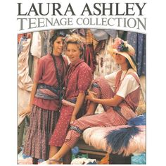 """""""The loose fit of the 80's! Our Laura Ashley teenage collection - image from 1985"""" I can't help but feel that this is wrong somehow, as though this fashion is NOT what teenagers would wear in the 80's, period."""