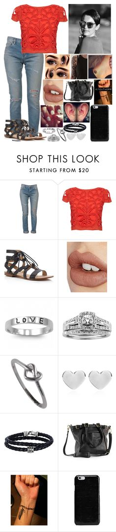 """Untitled #2956 - Outfit of the Day - 10/11/16"" by nicolerunnels ❤ liked on Polyvore featuring Yves Saint Laurent, Alice + Olivia, Splendid, Charlotte Tilbury, Fantasy Jewelry Box, A.Jaffe, J.A.K., Dinny Hall, Phillip Gavriel and Roque Bags"