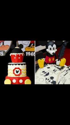 MickeyMouse theme cake